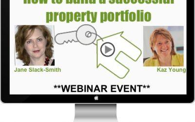 WEBINAR: How to build a successful property portfolio – with Jane Slack-Smith
