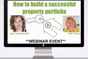 How to build a successful property portfolio – Webinar with Jane Slack-Smith