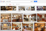 Google search for kitchen ideas