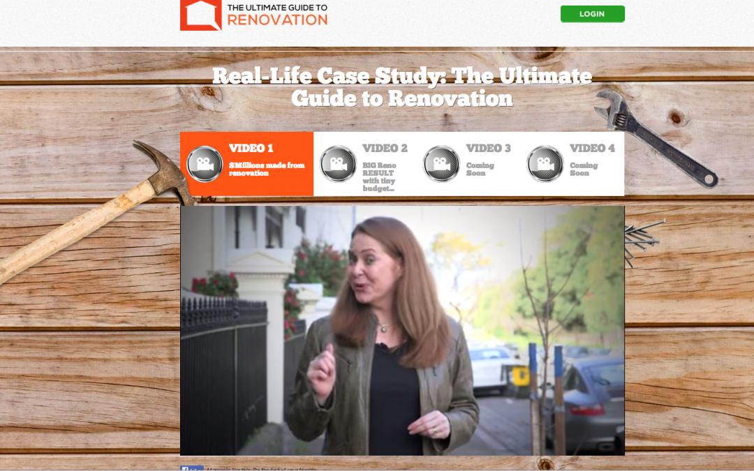 The Ultimate Guide to Renovation – Oct 2014 launch